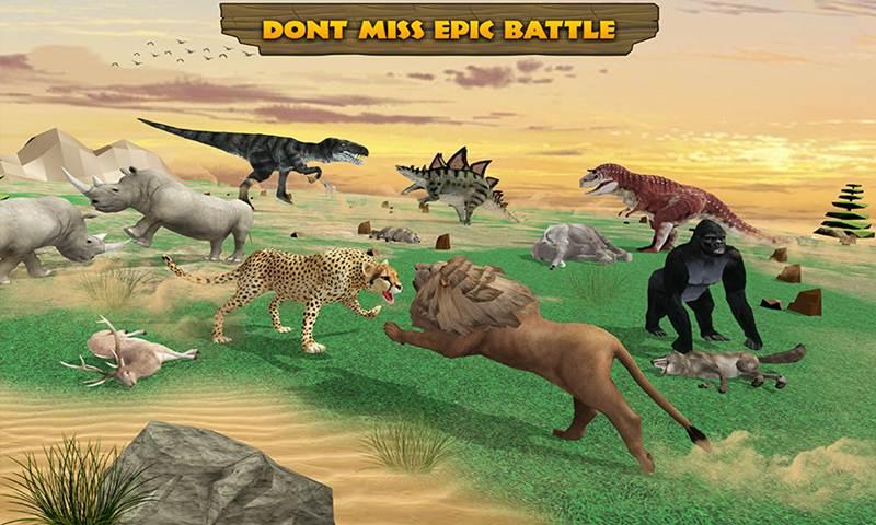 Wild Animal Battleground: Clash Of Beasts