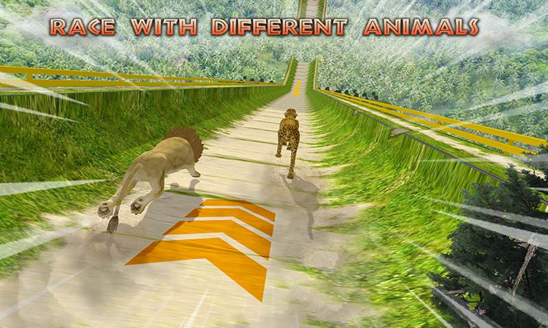 Wild Animal: Extreme Ramp Racing