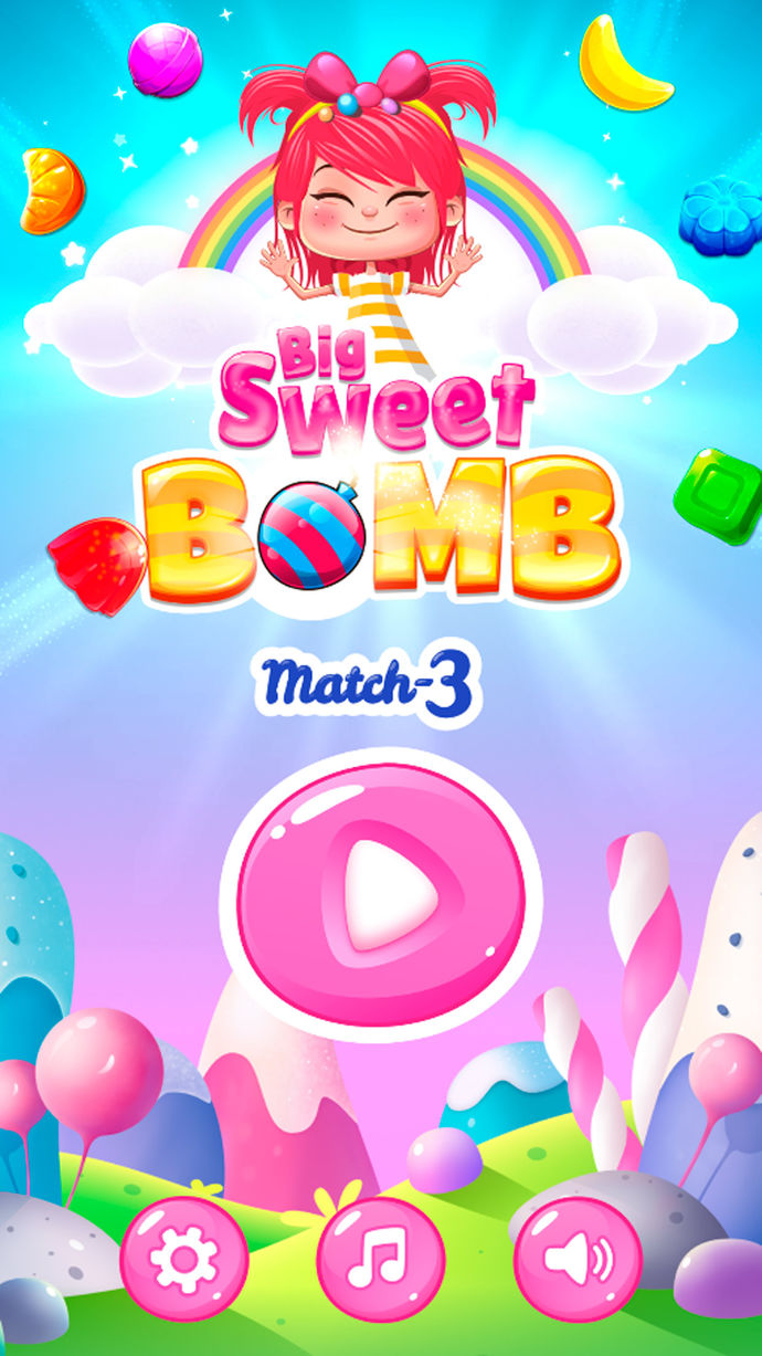 Big Sweet Bomb Match 3