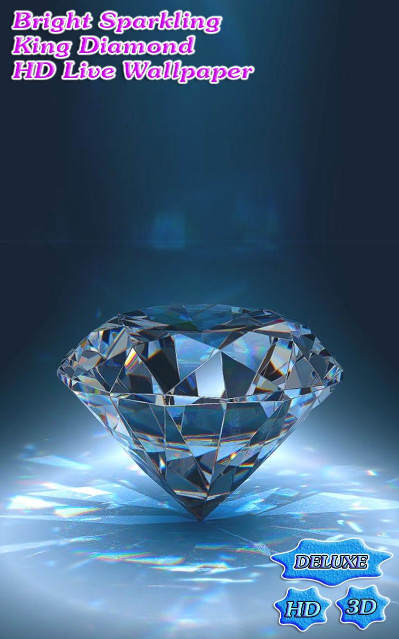 Bright Sparkling King Diamond 3D