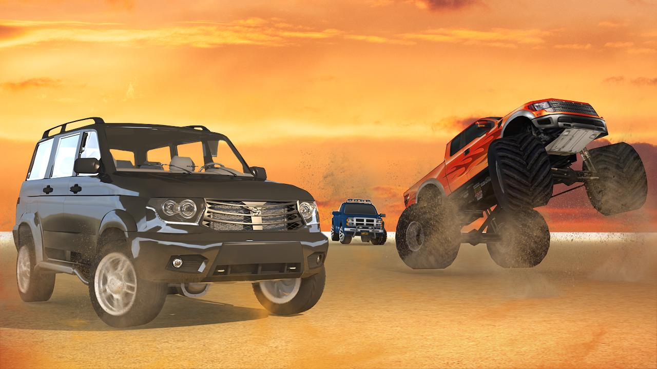 Desert Safari Prado Racing