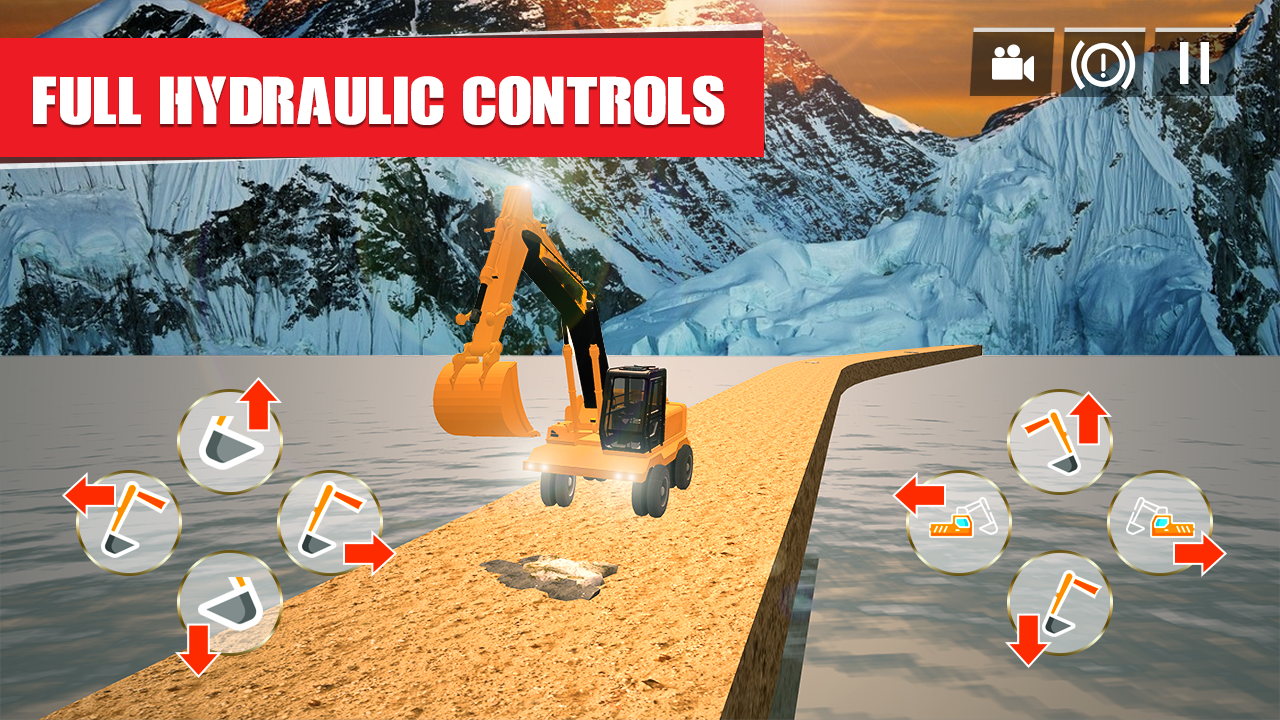 Excavator Games: City Construction Simulator 18