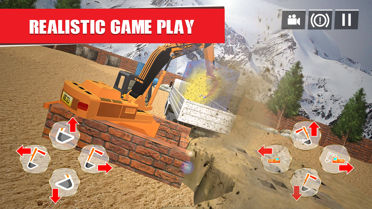 Excavator Games: City Construction Simulator 18