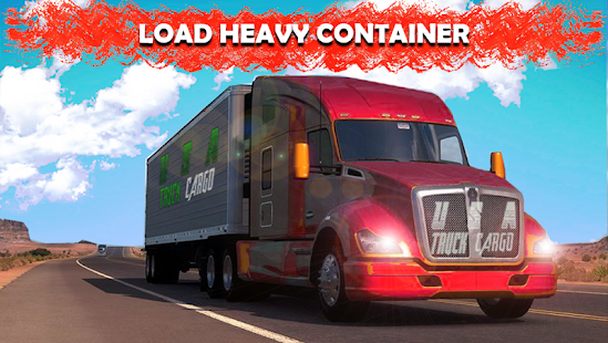 Extreme Cargo Truck Simulator 3D 2018