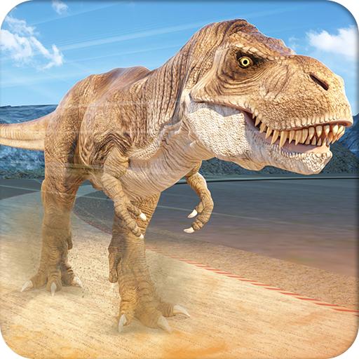 Jurassic Dinosaur Racing: Dino Race