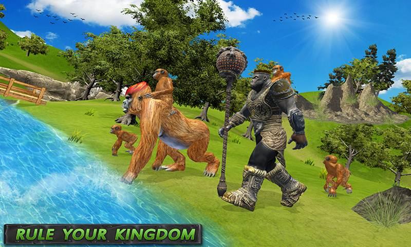 King Apes Family Jungle Simulator