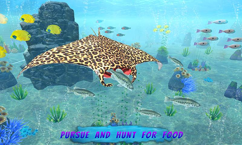 Mega Sea Fish: Family Sim