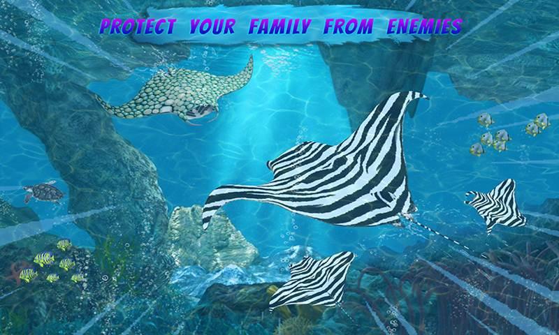 Mega Sea Fish: Family Sim