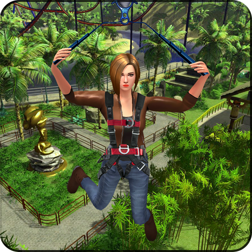 Mega Zipline 3D Skyline Adventure Simulator