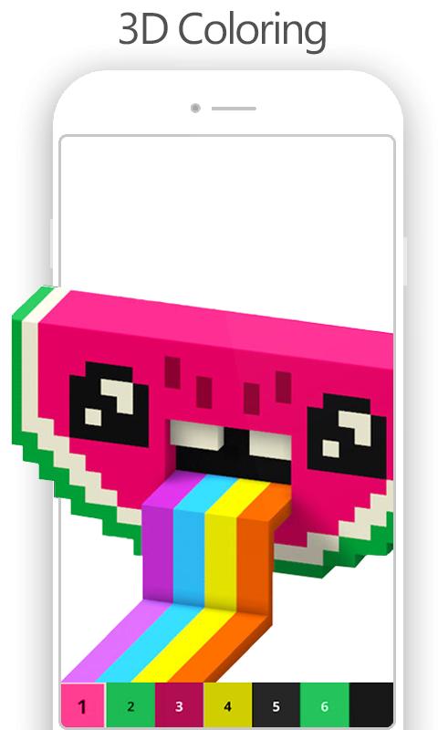 Pixel Art Number