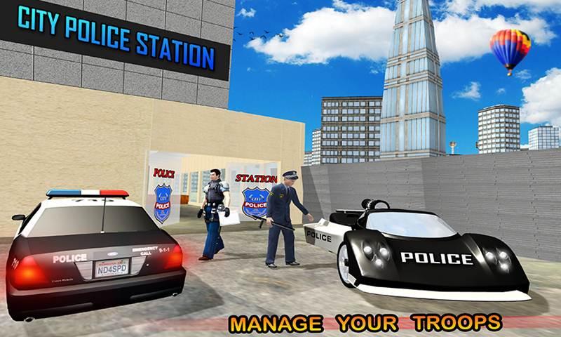Police Hot Chase Car Simulator
