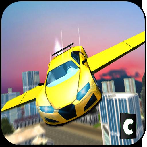 Real Flying Car Driving Fun 3D