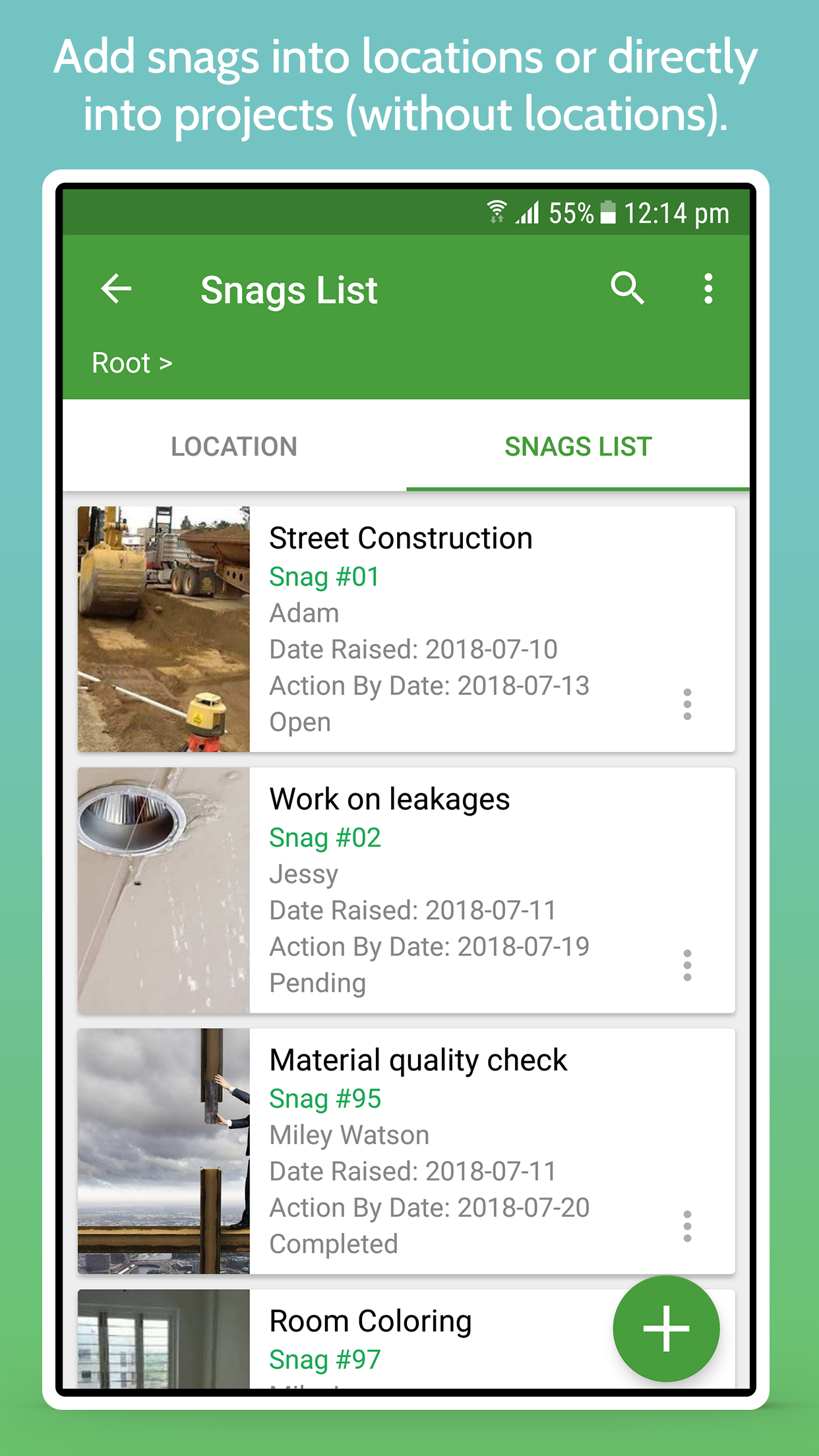 SnagID - Site Snagging, Auditing & Inspection Tool