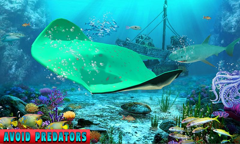 Stingray Water Family Simulator