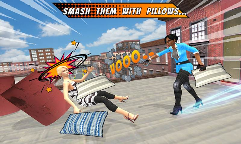 Super BFFs Pillow Fights