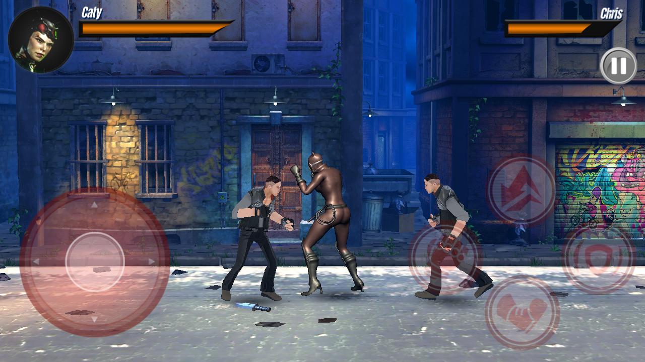 Superheroes Street Fighting Game: Infinity Karate