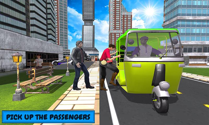 The Stylish Auto Rickshaw Driving Simulator