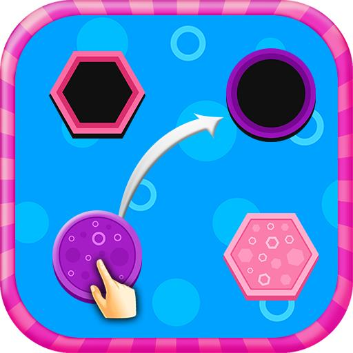 Toddler Preschool Shape Matching - Smart Kids Game