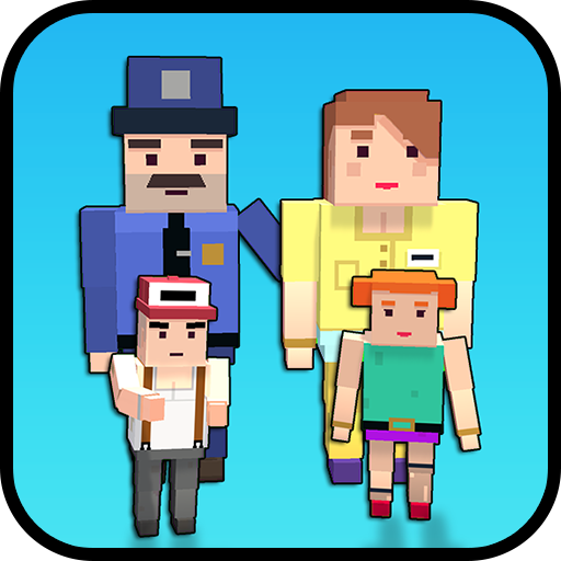 Virtual Father: Blocky Police Duty