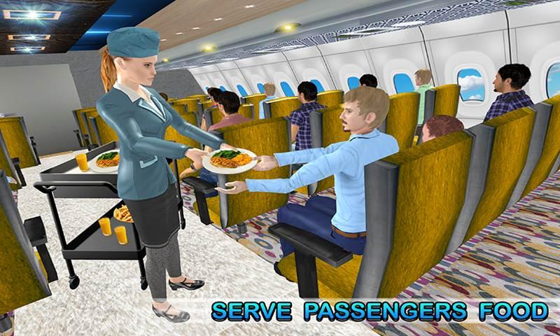 World Wide Air-Line's Air Hostess Simulator