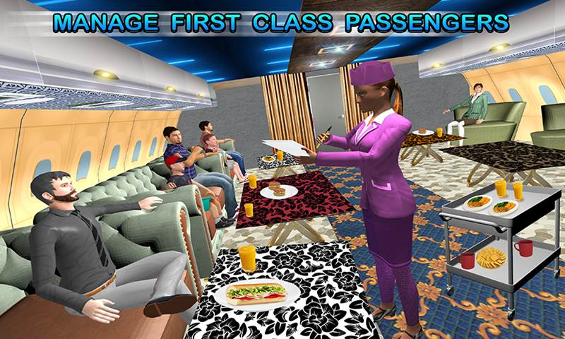 World Wide Air-Line's Air Hostess Simulator