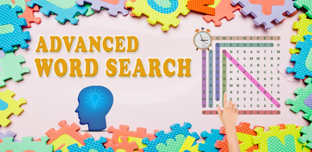 Advanced Word Search Puzzle