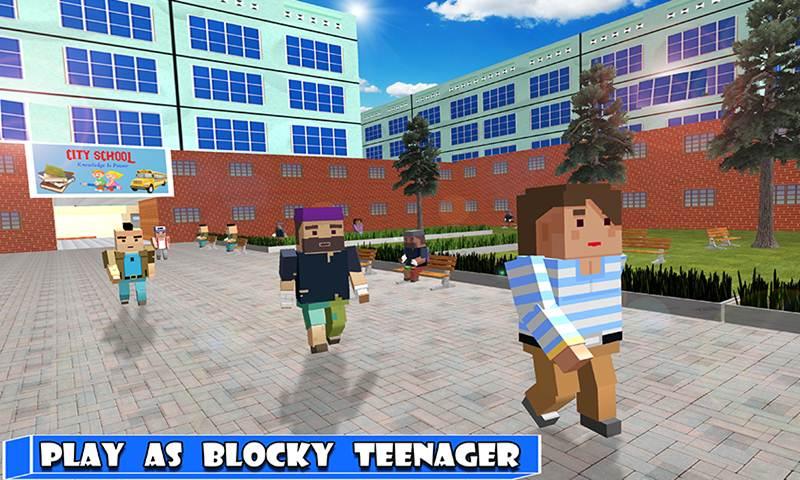 Blocky High School Adventures