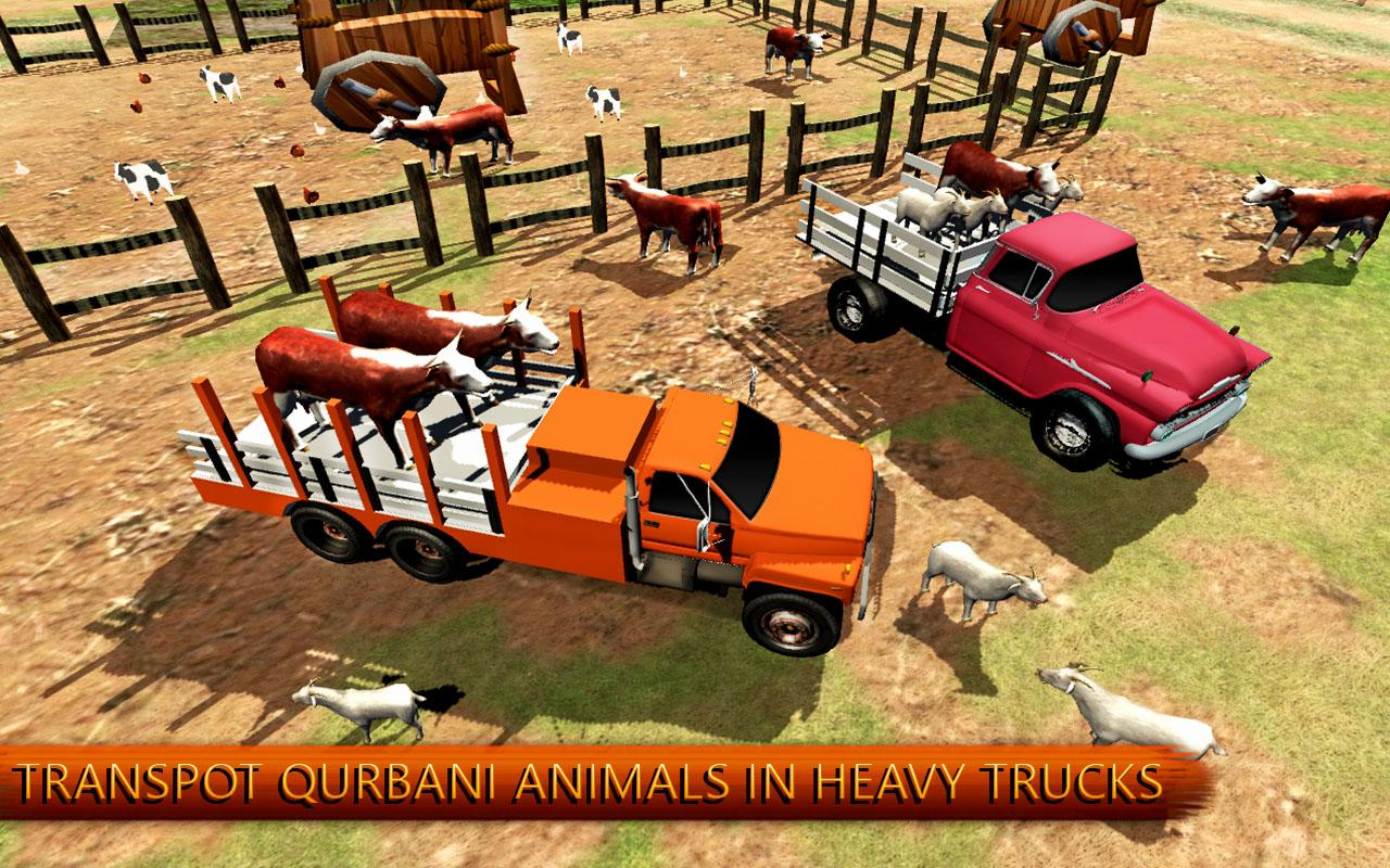 Eid Animal Transport Truck Simulator