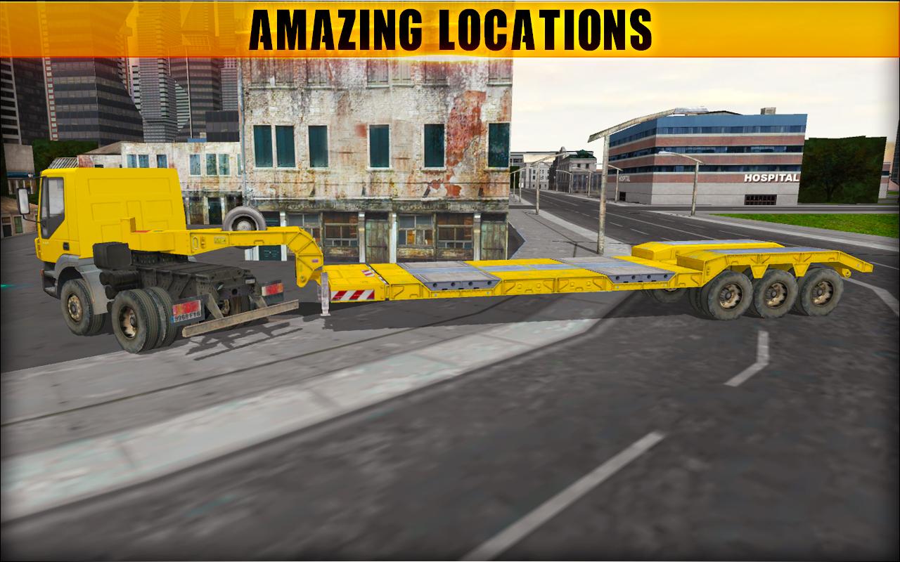 Euro Truck Cargo Transport Game : Heavy Truck Sim