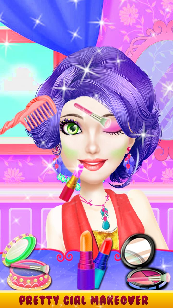High School Makeup – Princess Hair Style