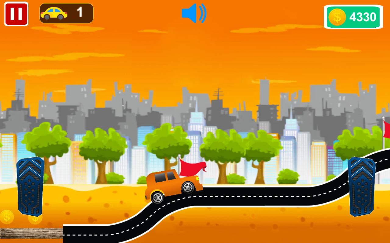 High Speed 2D Car Racing