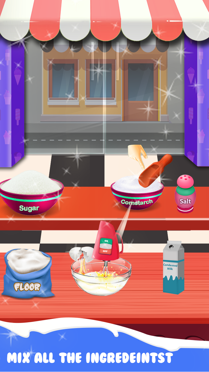 My Ice Cream Crazy Chef – Dessert Game