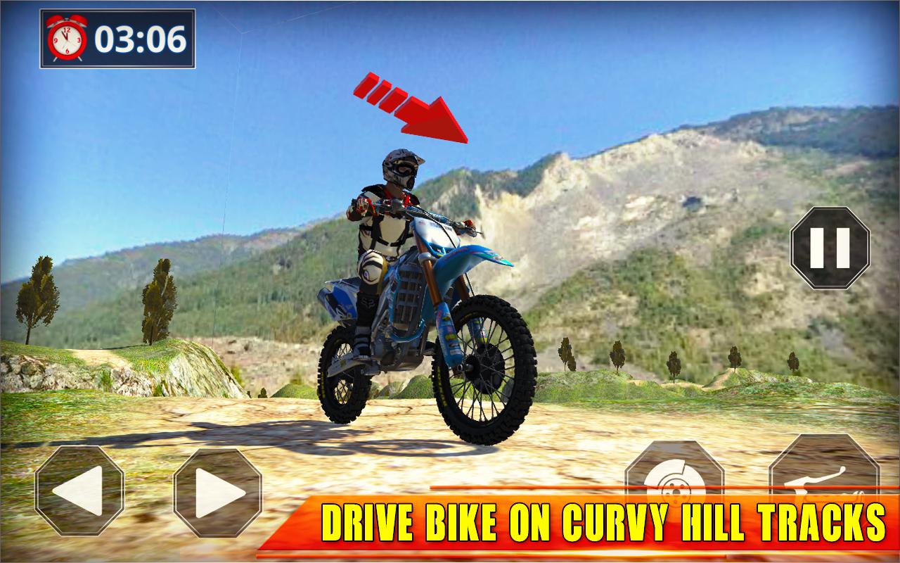 Offroad Bike Racing Game : Bike Stunt Games