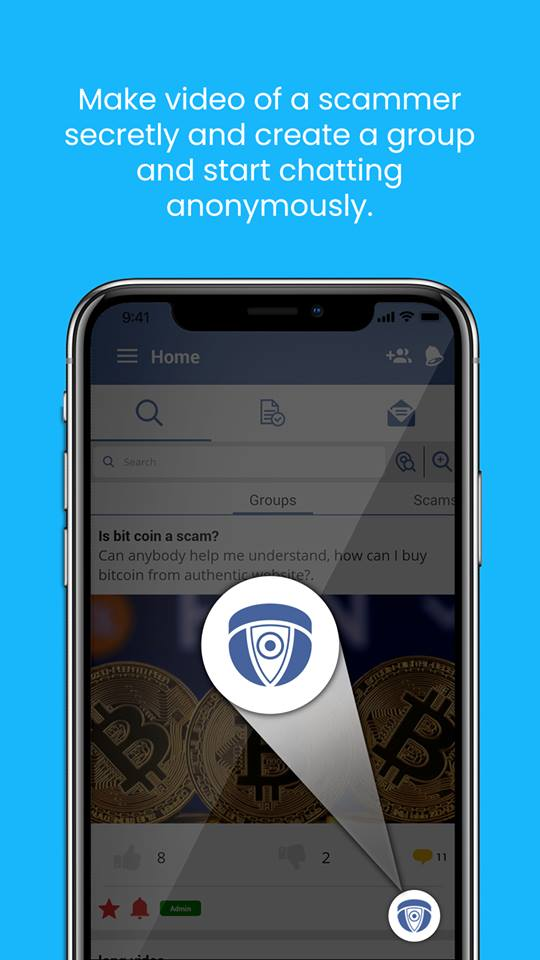 Scampedia -- A true freedom of expression app