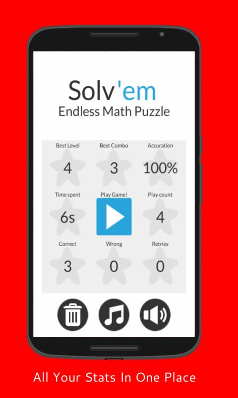 Solv'em - Endless Math Puzzle