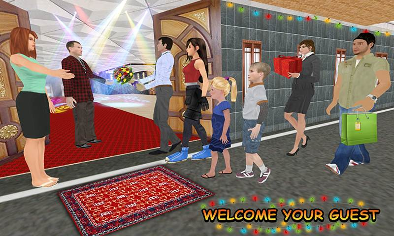 Virtual Happy Family: House Party