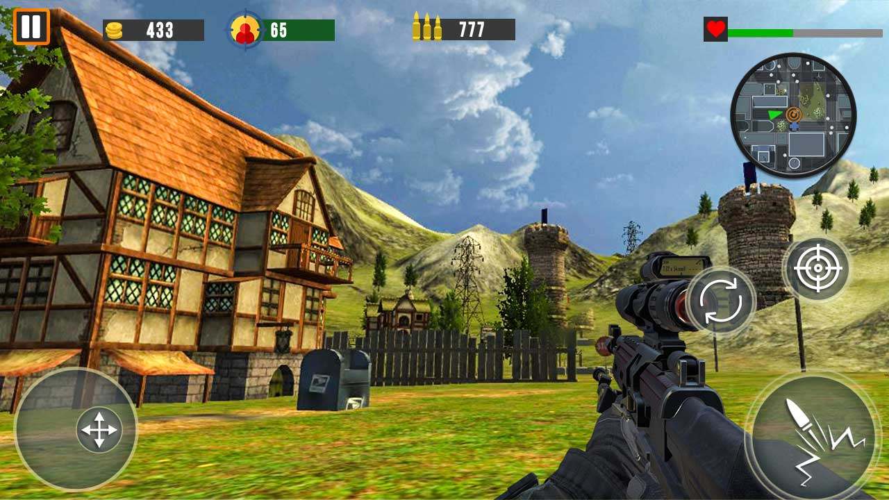 Counter Terrorist SWAT Shooter FPS Commando Strike