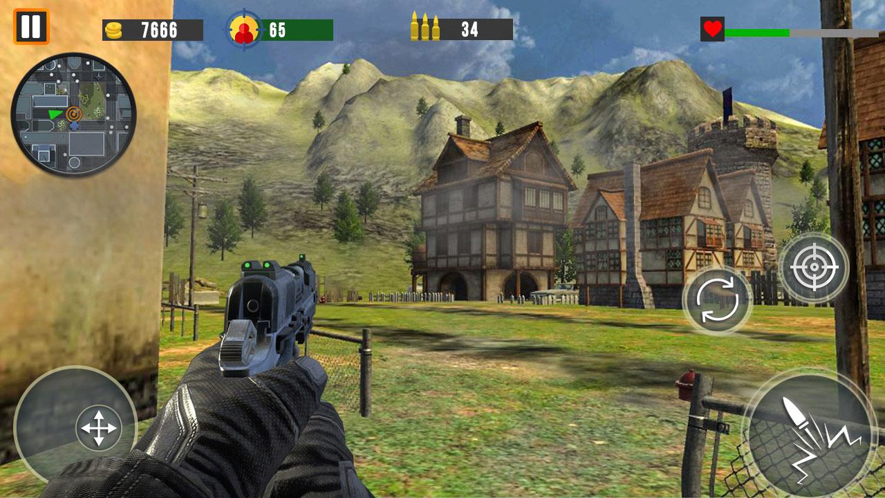 Counter Terrorist SWAT Shooter FPS Commando Strike
