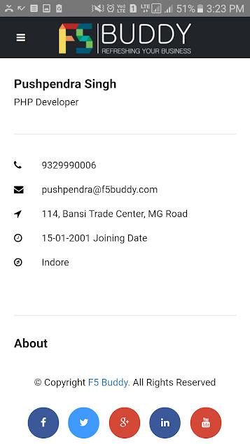 F5 Buddy : HR Management Tool