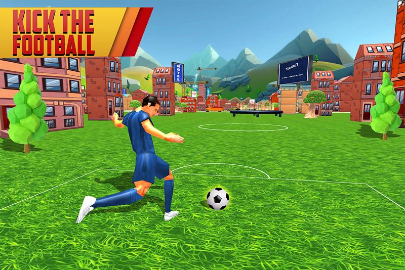 Football Kick Hit World