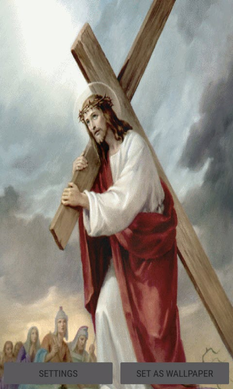 Jesus With Cross LWP