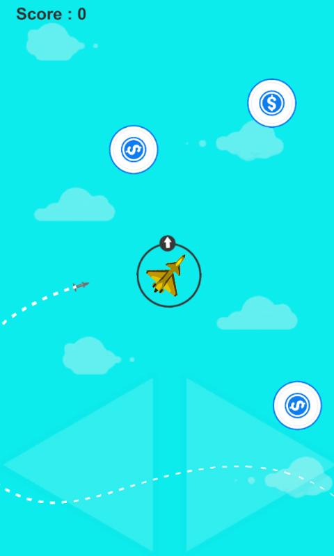 Missiles Attack Plane Escape