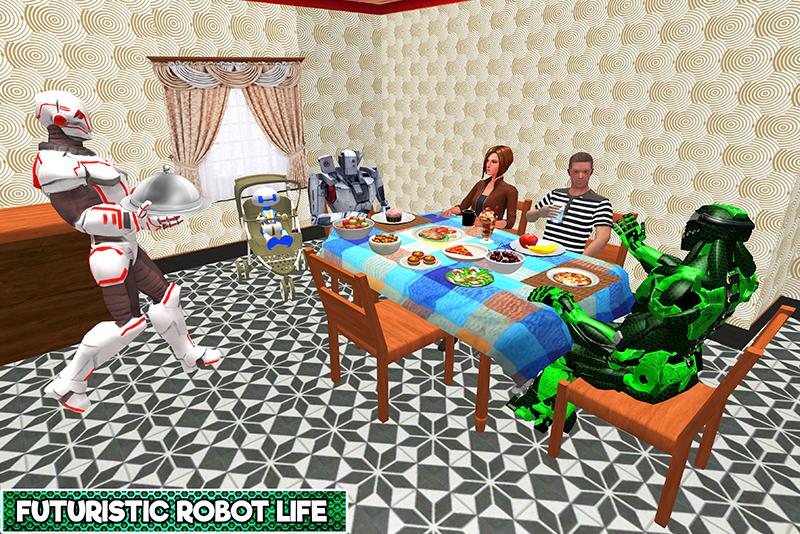 Robotic Family Fun Simulator