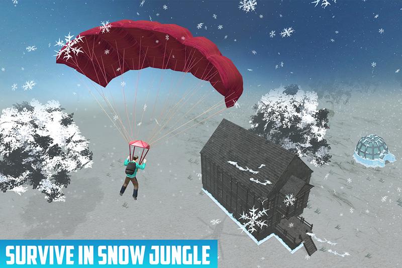 Snowmobile Jungle Survival
