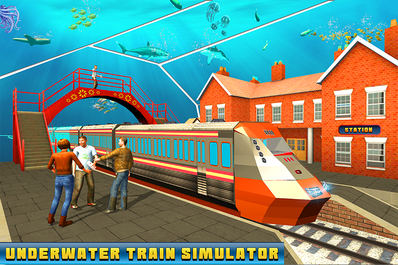 Underwater Train Simulator: Pro Train Driving