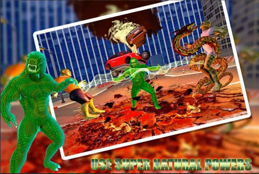 Anaconda Snake Hero City Battle Survival