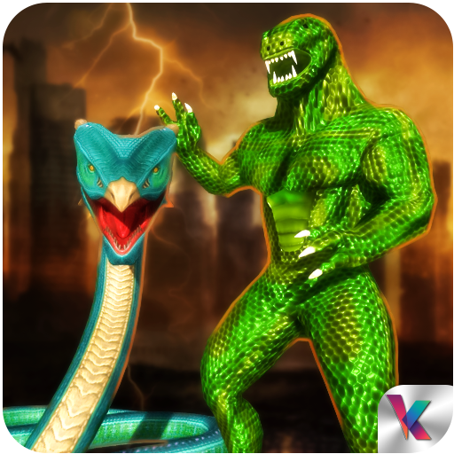 Anaconda Snake Hero City Battle Survival
