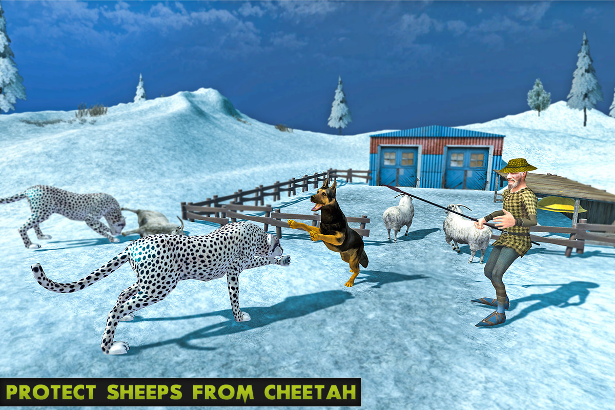 Arctic Shepherd Dog Simulator 2017
