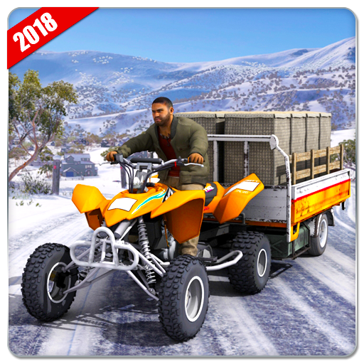 ATV Quad Bike Cargo Transport Simulator