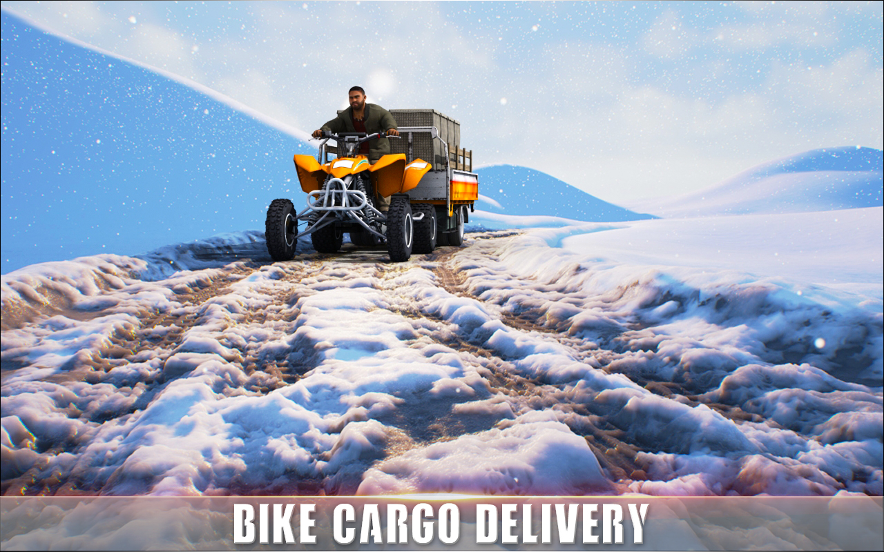 ATV Quad Bike Cargo Transport Simulator